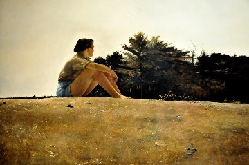 Sandspit HS 1953 Limited Edition Print - Andrew Wyeth