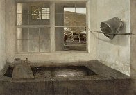 Spring Fed HS 1972 Limited Edition Print by Andrew Wyeth - 0