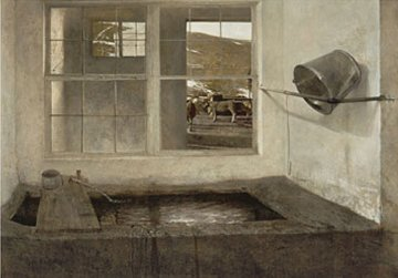 Spring Fed HS 1972 Limited Edition Print - Andrew Wyeth