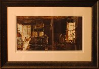 Woodstove HS 1963 Limited Edition Print by Andrew Wyeth - 1