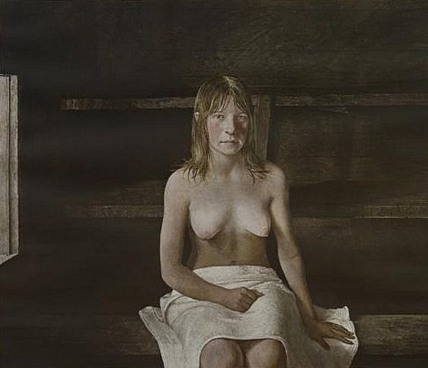 Sauna 1979 Poster HS Limited Edition Print by Andrew Wyeth