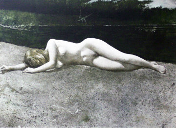 Black Water HS Limited Edition Print - Andrew Wyeth