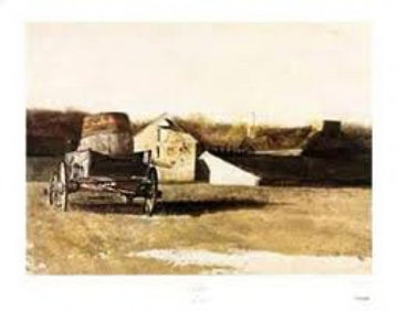 Cider Barrel 1976 Limited Edition Print - Andrew Wyeth