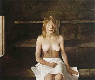 Sauna HS 1979 Limited Edition Print - Andrew Wyeth