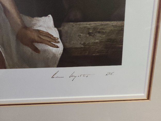 Sauna HS 1979 Limited Edition Print by Andrew Wyeth