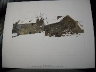 Four Seasons Portfolio, Suite of 12 1961 HS Limited Edition Print by Andrew Wyeth - 16
