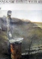 An American Vision-Three Generations Wyeth Art Poster 1988 Limited Edition Print by Andrew Wyeth - 0