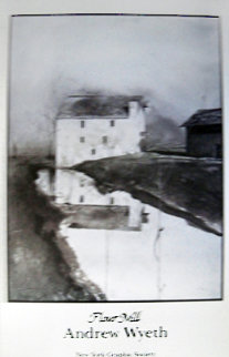 Flour Mill 1985 Limited Edition Print - Andrew Wyeth