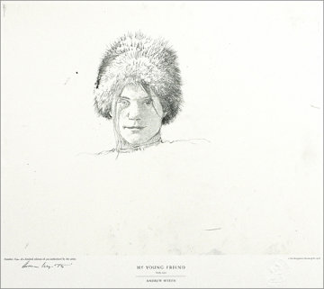 Drawings Portfolio, Set of 10 Collotypes HS Limited Edition Print by Andrew Wyeth