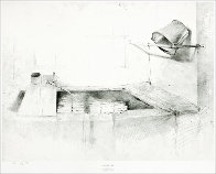 Drawings Portfolio, Set of 10 Collotypes HS Limited Edition Print by Andrew Wyeth - 4