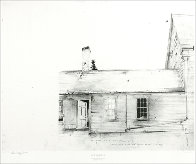 Drawings Portfolio, Set of 10 Collotypes HS Limited Edition Print by Andrew Wyeth - 5