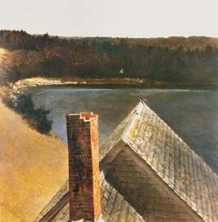 End of Olsen's HS Limited Edition Print by Andrew Wyeth