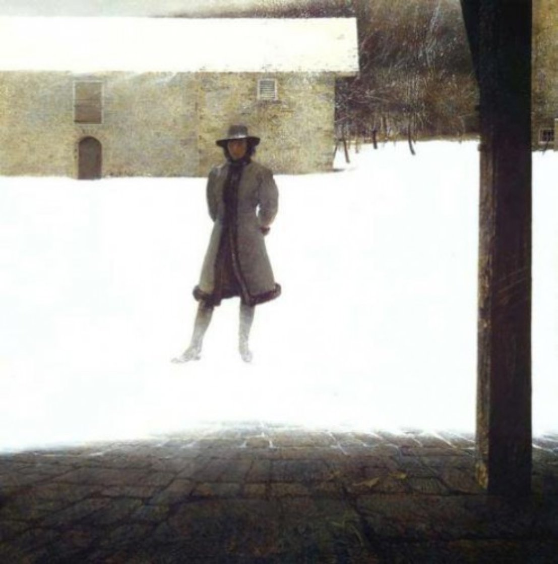 Outpost 1977 Limited Edition Print by Andrew Wyeth