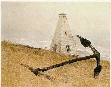 Sea Running HS Limited Edition Print - Andrew Wyeth