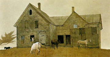 Open House HS 1980 Limited Edition Print - Andrew Wyeth