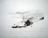 Four Season Portfolio of 12 Collotypes Limited Edition Print by Andrew Wyeth - 10