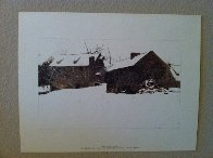 Four Season Portfolio of 12 Collotypes Limited Edition Print by Andrew Wyeth - 11