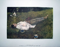 Four Season Portfolio of 12 Collotypes Limited Edition Print by Andrew Wyeth - 3