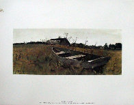Four Season Portfolio of 12 Collotypes Limited Edition Print by Andrew Wyeth - 4