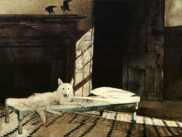 Harlequin 1997 HS Limited Edition Print by Andrew Wyeth
