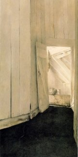 Cooling Shed HS Limited Edition Print - Andrew Wyeth