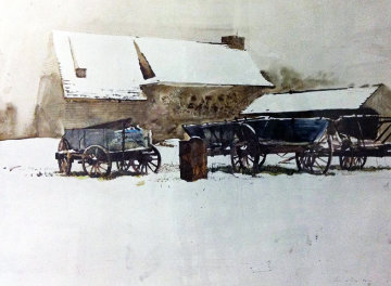 Rural Holiday HS 1968 Limited Edition Print - Andrew Wyeth
