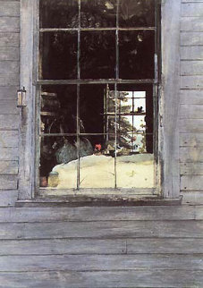Geraniums HS 1960 Limited Edition Print by Andrew Wyeth