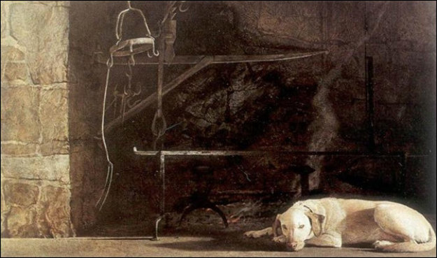 Ides of March HS Limited Edition Print by Andrew Wyeth