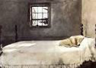 Master Bedroom 1985 Limited Edition Print by Andrew Wyeth - 0