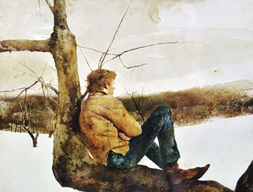 Afternoon Flight HS Limited Edition Print by Andrew Wyeth