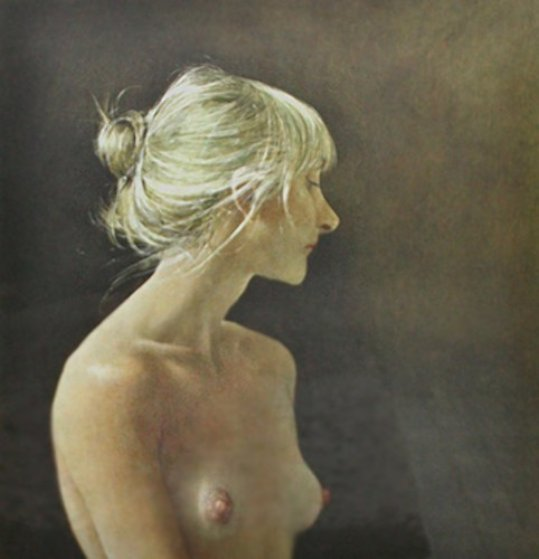 Beauty Mark 1985 HS Limited Edition Print by Andrew Wyeth