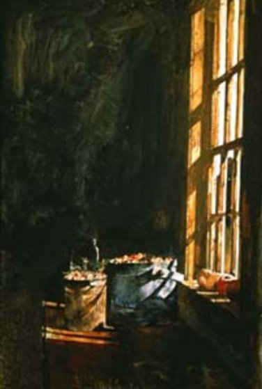 Cranberries 1966 HS by Andrew Wyeth