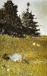 Distant Thunder 1980 HS Limited Edition Print - Andrew Wyeth