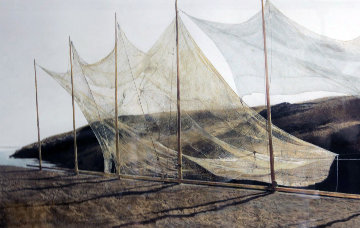 Pentecost AP 2003 HS  Limited Edition Print - Andrew Wyeth