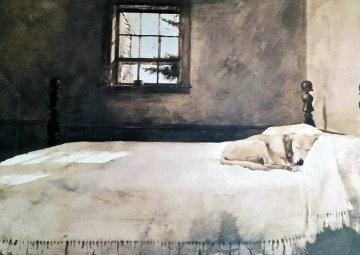 Master Bedroom HS Limited Edition Print - Andrew Wyeth
