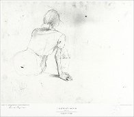 Metropolitan Drawings Portfolio, Set of 10 Collotypes HS 1976 Limited Edition Print by Andrew Wyeth - 1