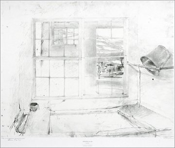 Metropolitan Drawings Portfolio, Set of 10 Collotypes HS 1976 Limited Edition Print by Andrew Wyeth