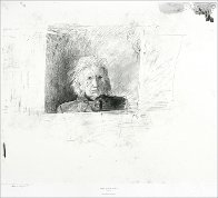 Metropolitan Drawings Portfolio, Set of 10 Collotypes HS 1976 Limited Edition Print by Andrew Wyeth - 2