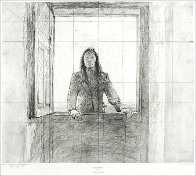Metropolitan Drawings Portfolio, Set of 10 Collotypes HS 1976 Limited Edition Print by Andrew Wyeth - 4