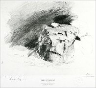Metropolitan Drawings Portfolio, Set of 10 Collotypes HS 1976 Limited Edition Print by Andrew Wyeth - 6