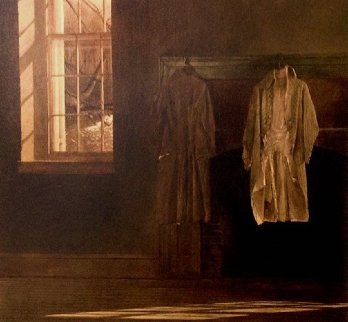 Quaker 1977 Limited Edition Print by Andrew Wyeth