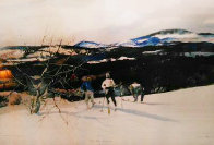 From Mt. Kearsage HS 1970 Limited Edition Print by Andrew Wyeth - 1