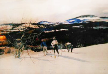 From Mt. Kearsage HS 1970 Limited Edition Print by Andrew Wyeth