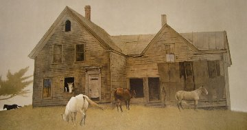 Open House 1980 HS  Limited Edition Print - Andrew Wyeth