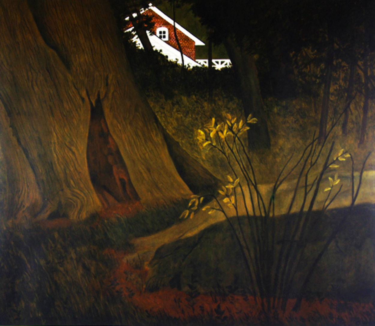 Up From the Woods 1975 HS Limited Edition Print by Carolyn Wyeth