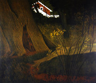 Up From the Woods 1975 HS Limited Edition Print by Carolyn Wyeth - 0