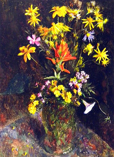 Wild Flowers From the Hills 1981 HS Limited Edition Print - Henriette Wyeth