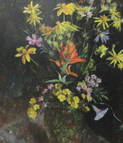 Wildflowers From the Hills HS Limited Edition Print by Henriette Wyeth