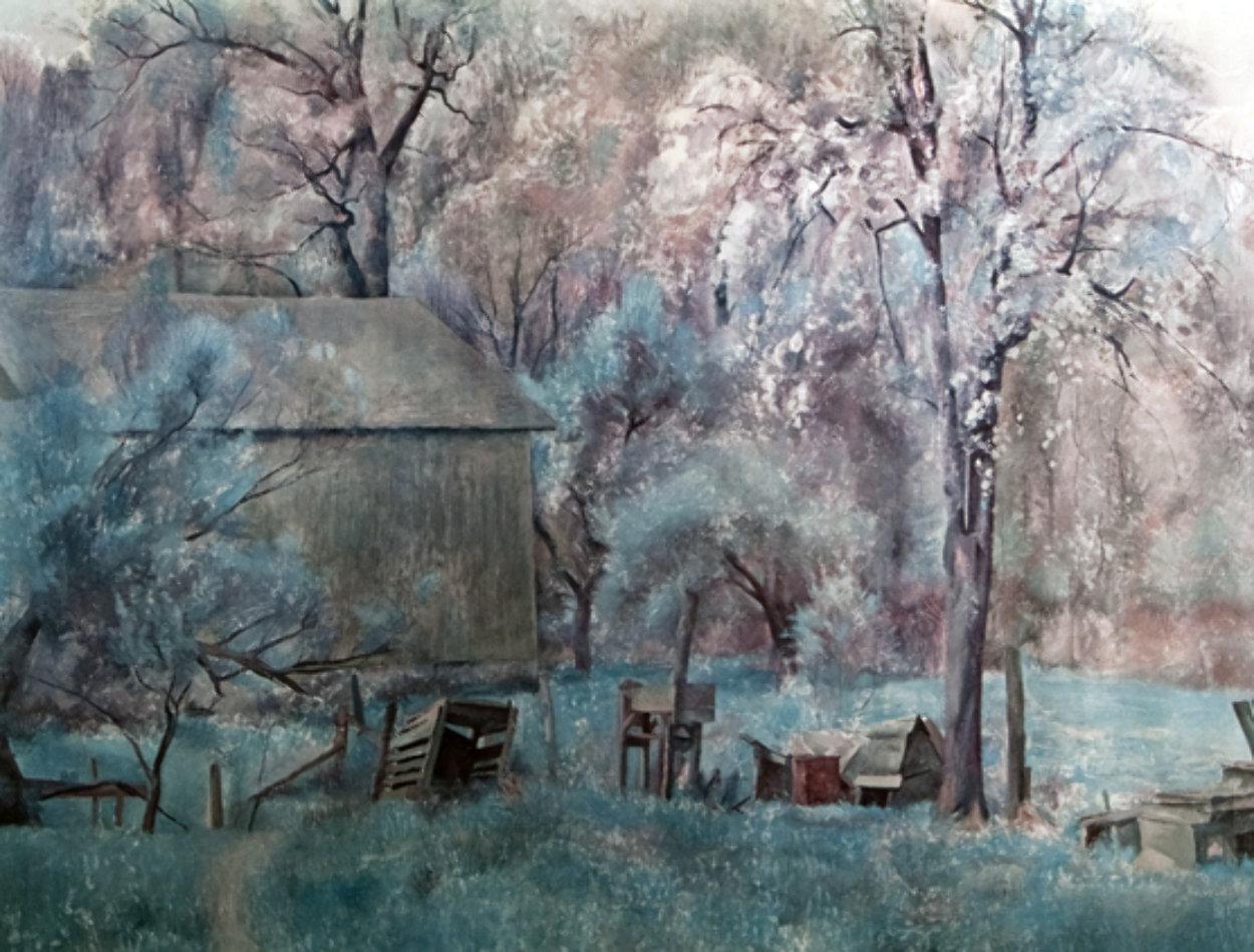 Brandywine Farm HS Limited Edition Print by Henriette Wyeth