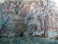 Brandywine Farm HS Limited Edition Print by Henriette Wyeth - 0